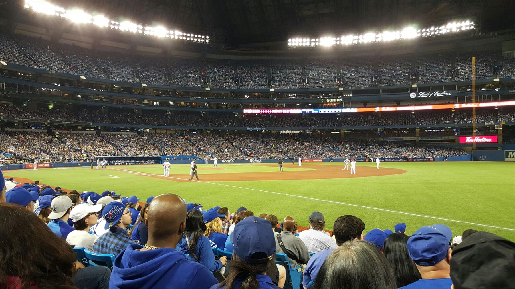 Toronto Blue Jays VS LA Dodgers at the Rogers Centre – Ticket Review