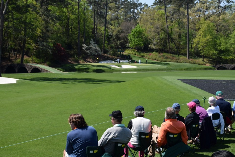 AMAZING View at Masters Golf Tournament! Thanks SeatGIANT!