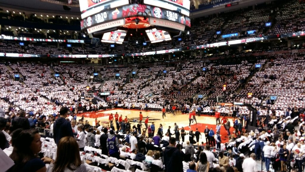Toronto Raptors Playoff Game - Onto the Eastern Conference Finals