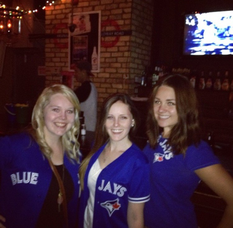 Blue Jays Game with the Girls
