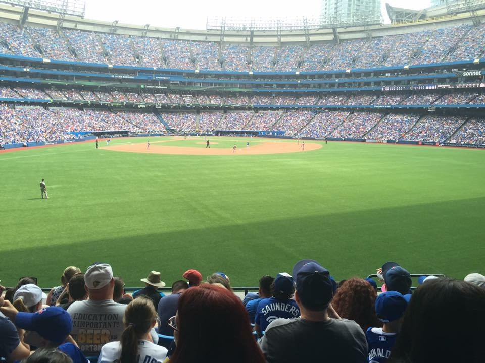 Blue Jays Game with the Family