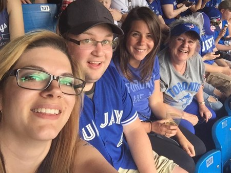 Blue Jays Game with the Family! 3699 blue jays game with the family 2