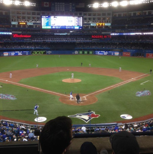 Great Seats at the Blue Jays game