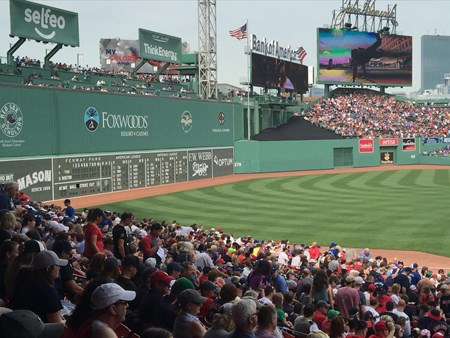 Blue Jays in Fenway Park vs Boston Red Sox 3768 blue jays in fenway park vs boston red sox 2