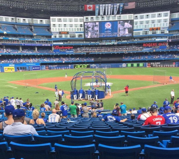 First ever Blue Jays Game