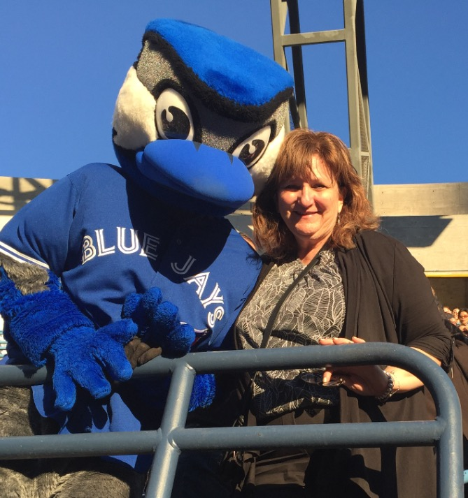 Blue Jays Game Today! I got to meet Ace!