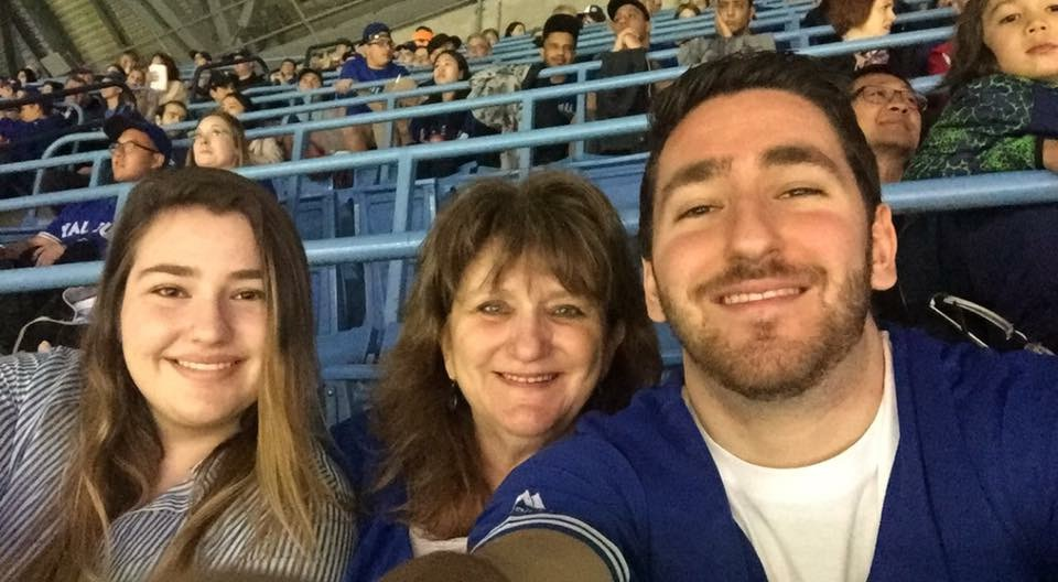Blue Jays with the fam! Thanks SeatGIANT