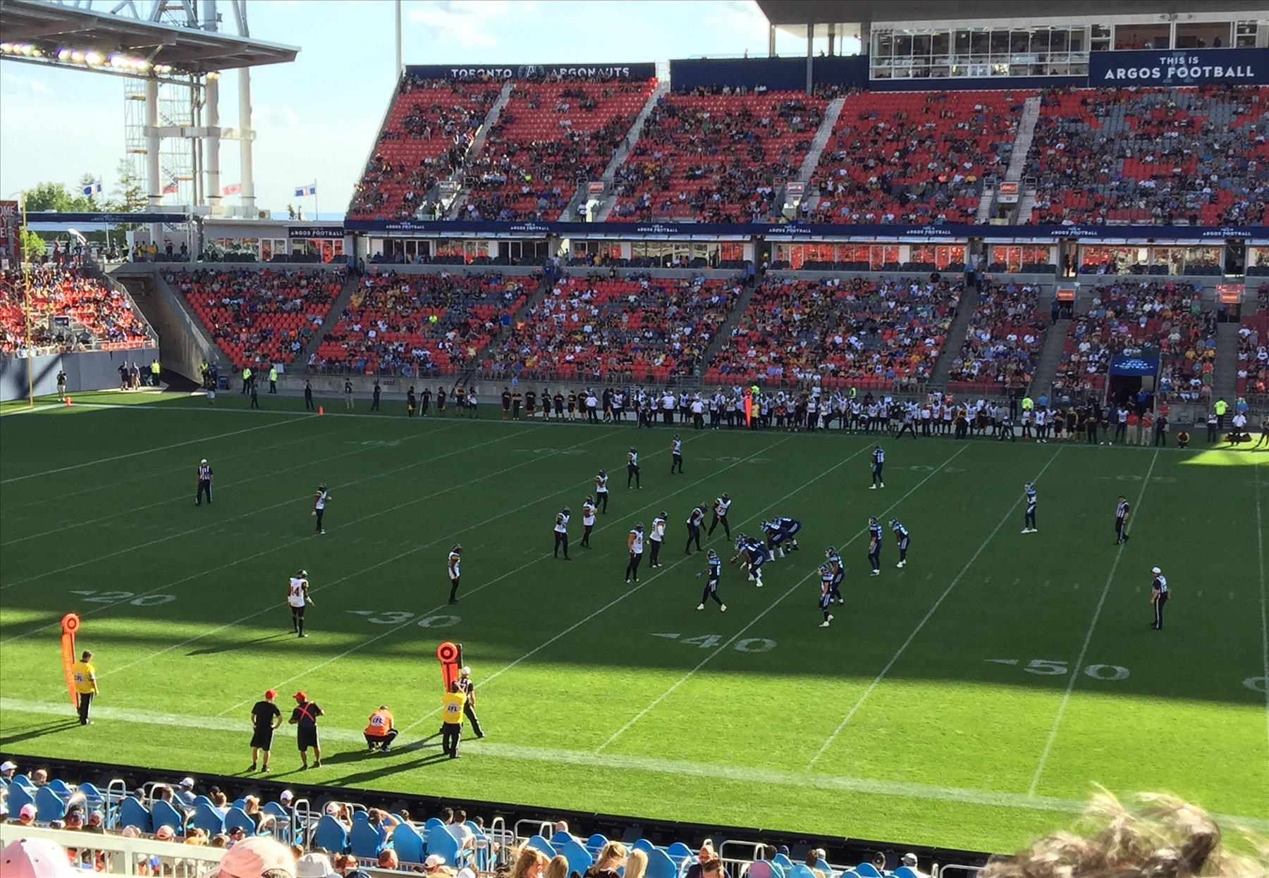First Argos Game at BMO Field