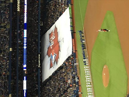 Toronto Blue Jays Tickets at The Rogers Centre to the Home Opener 6828 toronto blue jays home opener 2