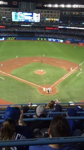 Toronto Blue Jays vs Tampa Bay Rays Tickets at the Rogers Centre
