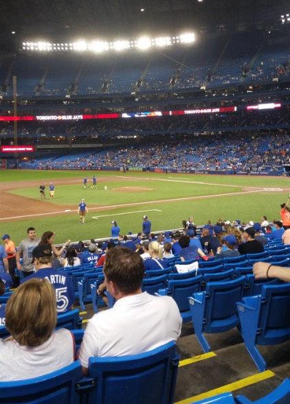 Blue Jays game at Rogers Centre